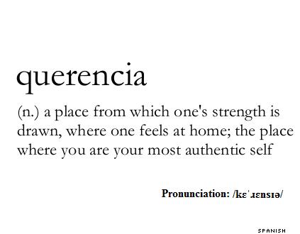 Querencia Definition